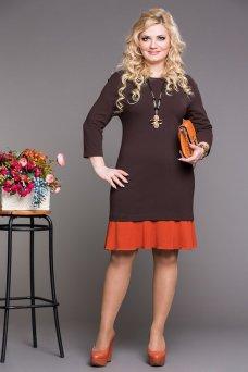 Платье Коко (шоколад)