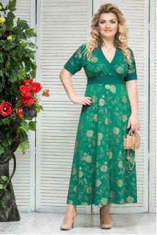 Платье Ночь (зеленый)