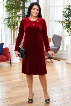 Платье Камилла (бордо)