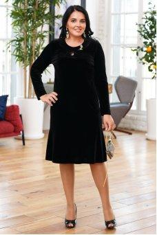 Платье Камилла (черный)