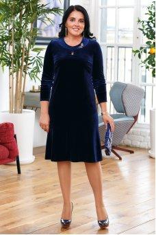 Платье Камилла (синий)