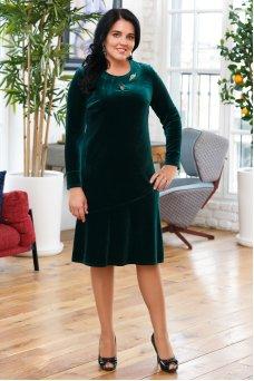 Платье Камилла (зеленый)