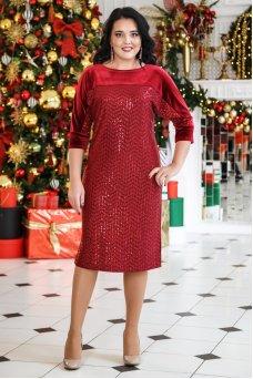 Платье Марго (бордо)