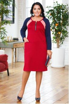 Платье Молли (красный)