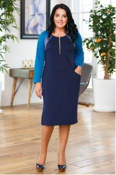 Платье Молли (синий)