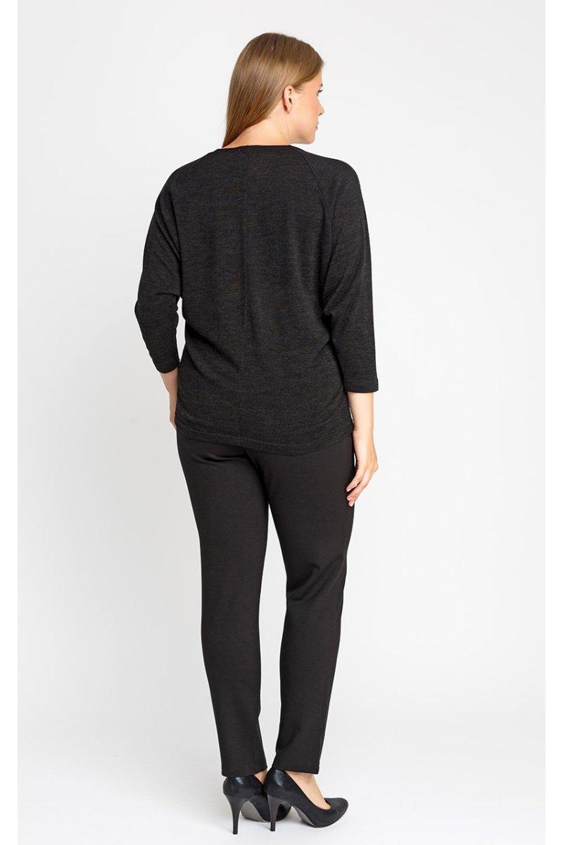 Блузка 4156 (черный)