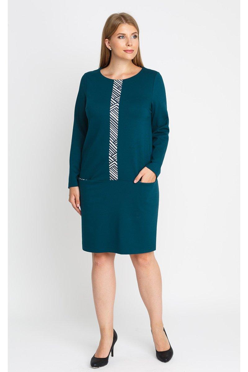 Платье 52112 (бирюза)