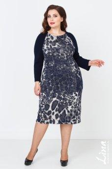 Платье Рената (синий)