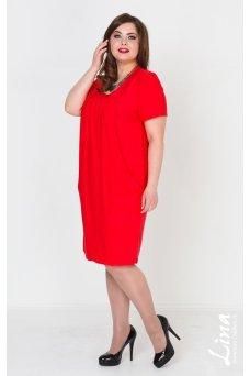Платье Стефани (красный)