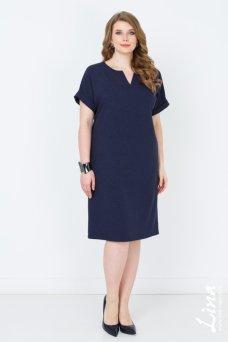 Платье Глэдис (синий темный)