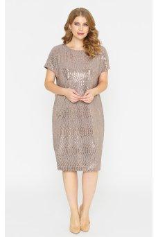 Платье Мелисса (бежевый)