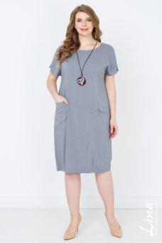 Платье Ницца (серый)