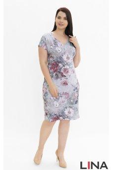Платье Олисия (серый)