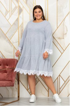 Платье Фиона (серый)