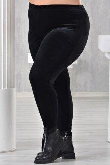 Лосины Велюр черный