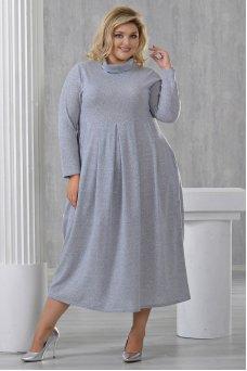 Платье Ангорка-2 (серый)