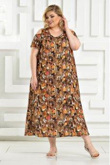 Платье Афина 2 (терракот)