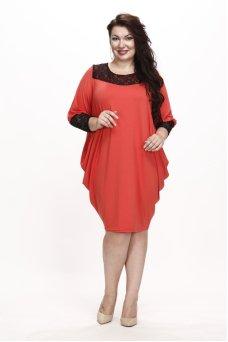 Платье Алана (коралл)
