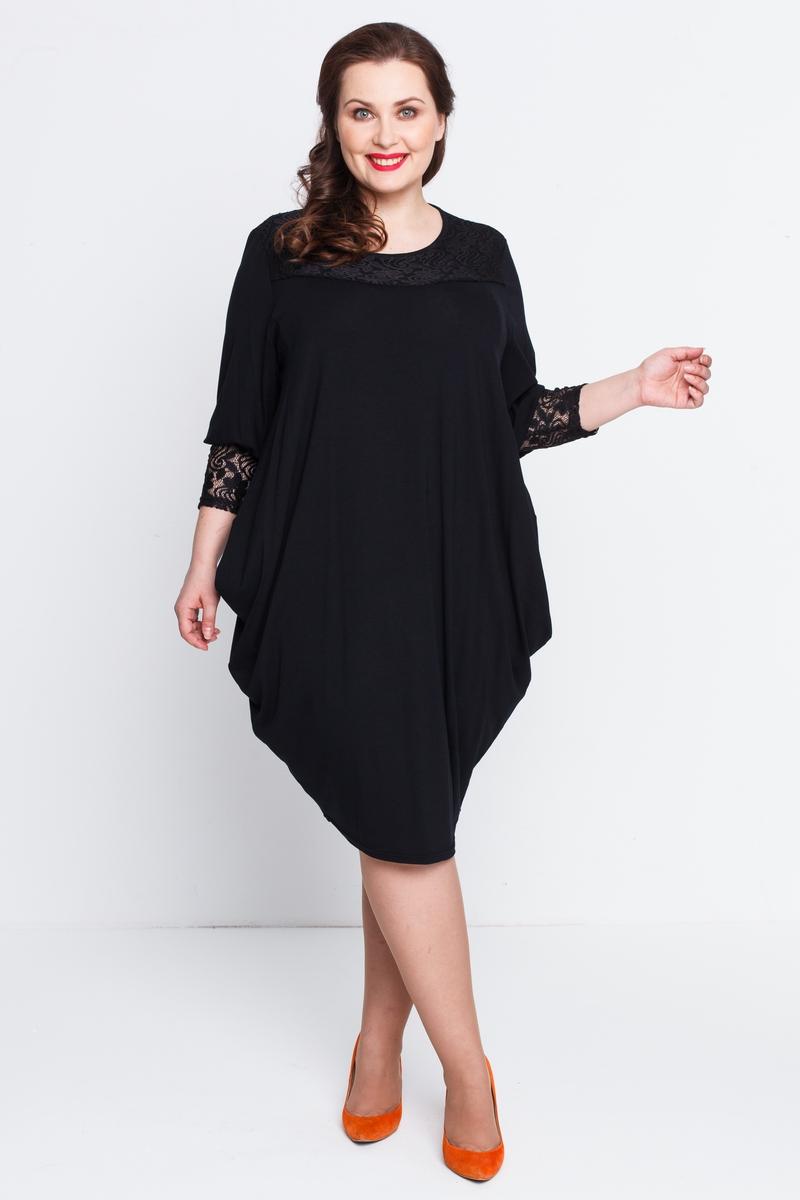Платье Алана (черный)