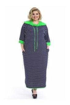 Платье Круиз 2 кант (зеленый)