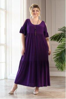 Платье Лилия (фиолет)