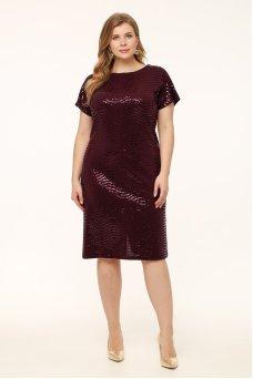 Платье Маркиза (баклажан)