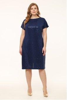 Платье Маркиза (синий)