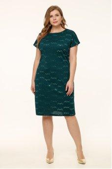 Платье Мишель (зеленый)