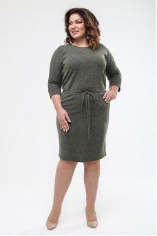 Платье Надин (зеленый)