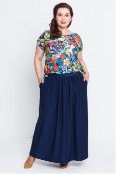 Платье Тиффани (синий темный)