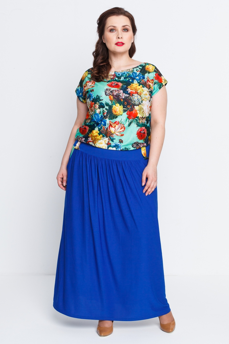 Платье Тиффани (василек)