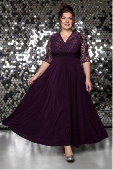 Платье Вернисаж (слива)