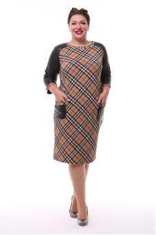 Платье Жаннет (клетка)