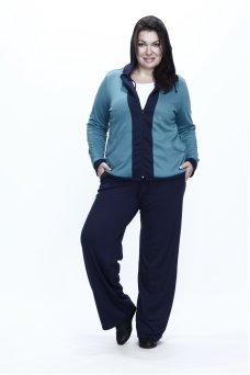 Спортивные брюки Весна (синий темный)