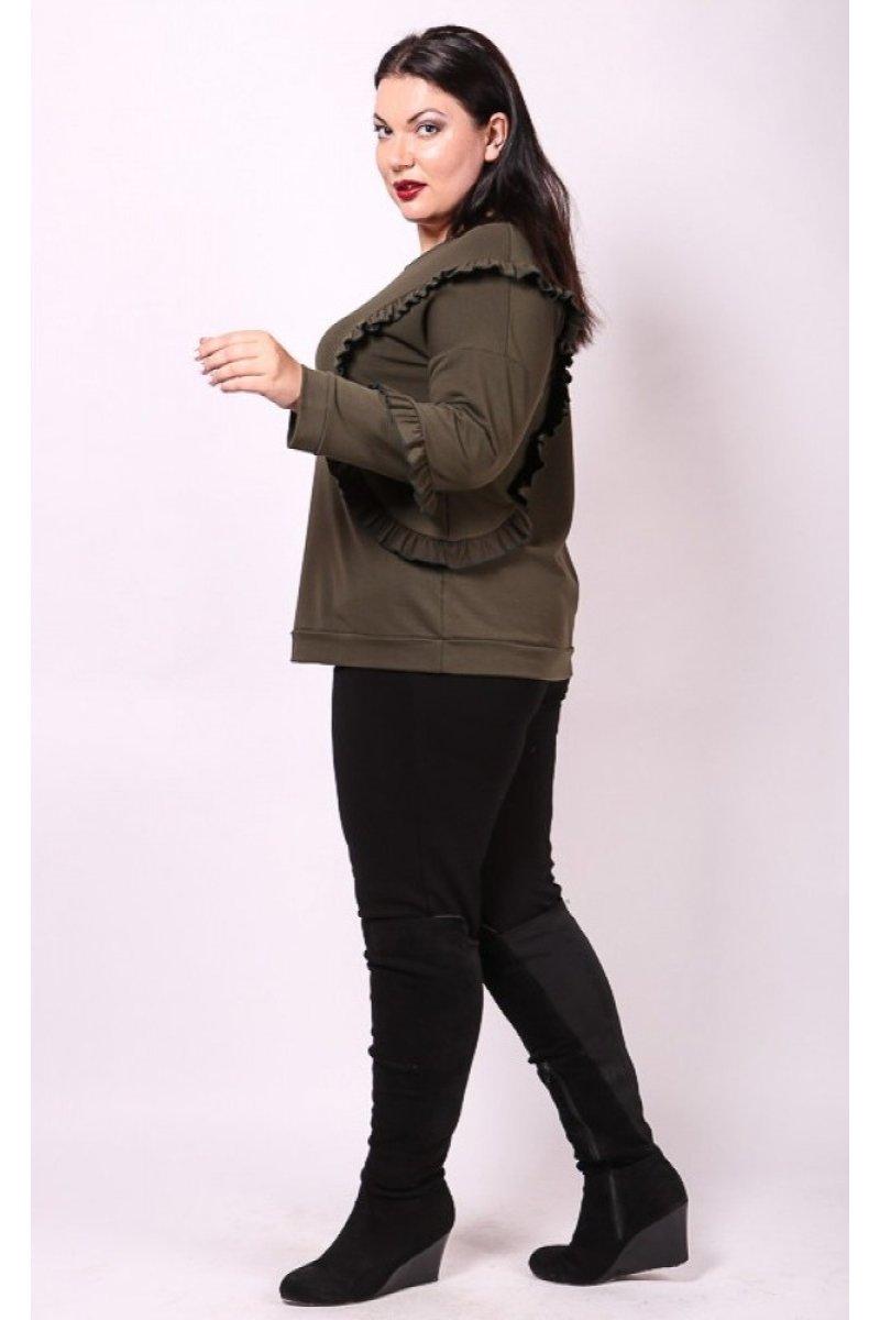 Блузка Келли (коричневый)