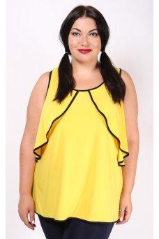 Блузка Лира (желтый)