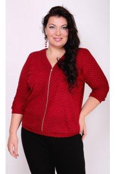 Блузка Лючия (красный)