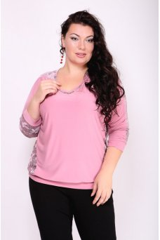 Блузка Селена (розовый)