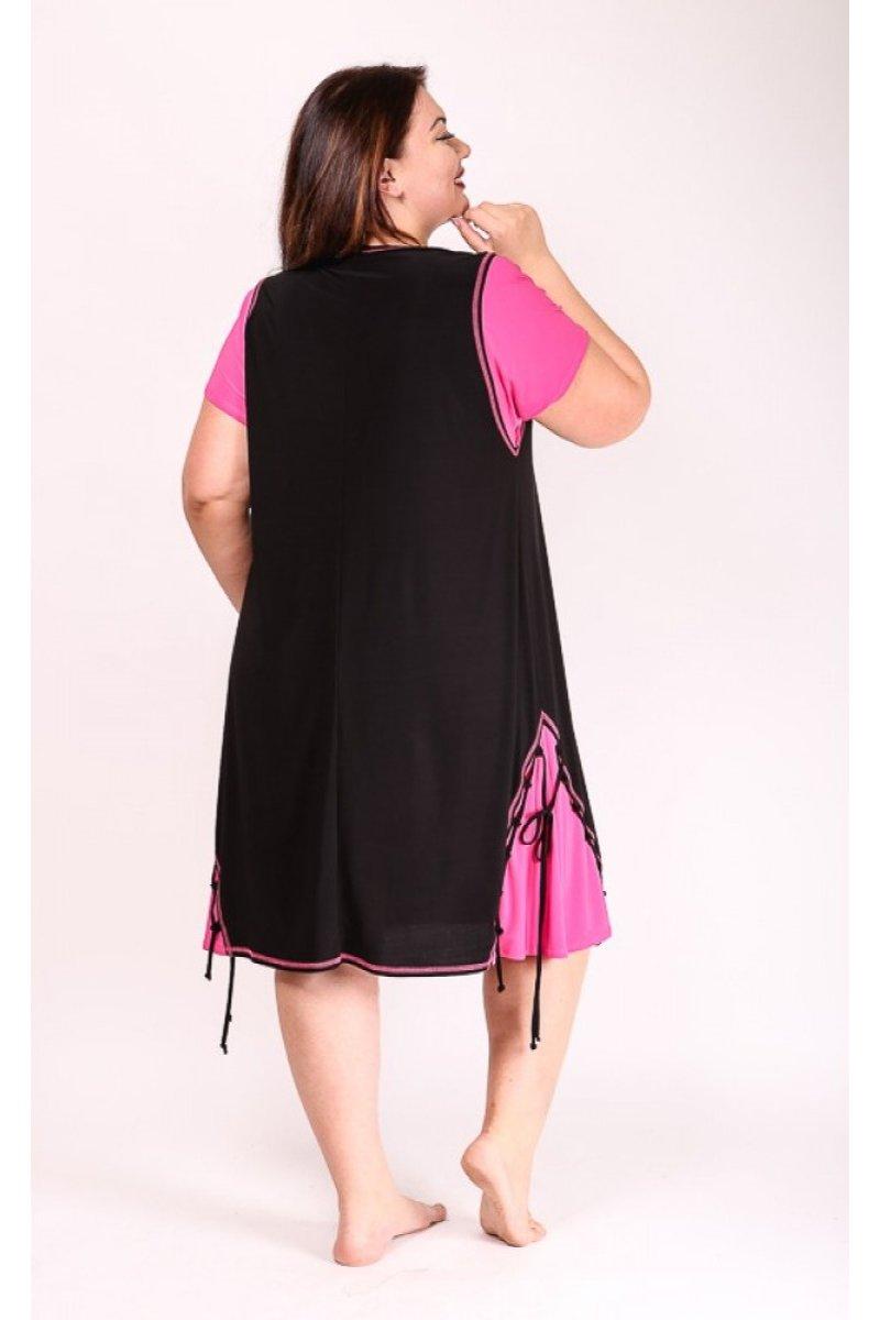 Платье Агния (розовый)