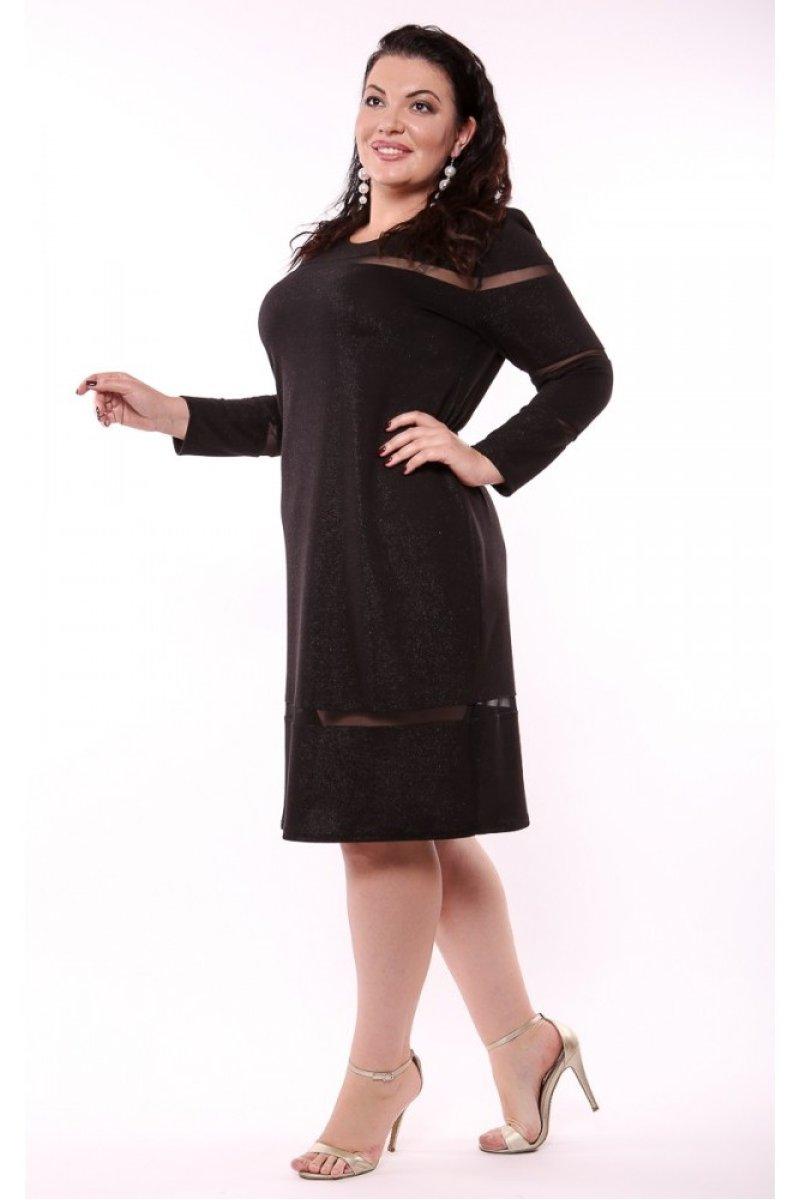Платье Алла (черный)