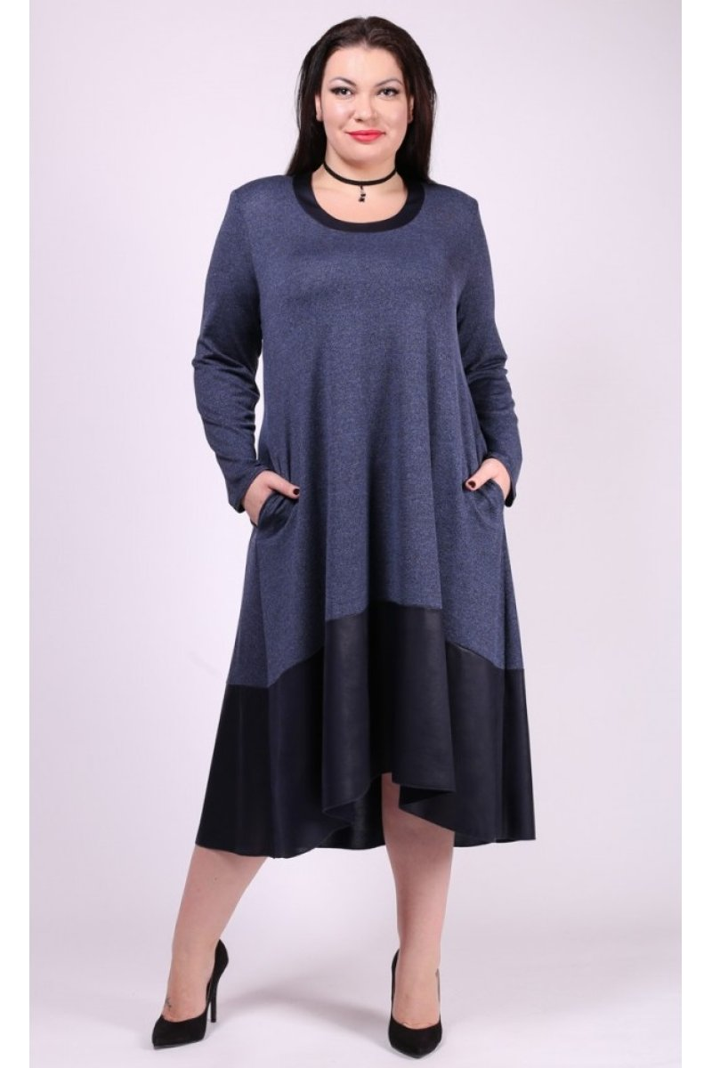 Платье Дублин (синий)