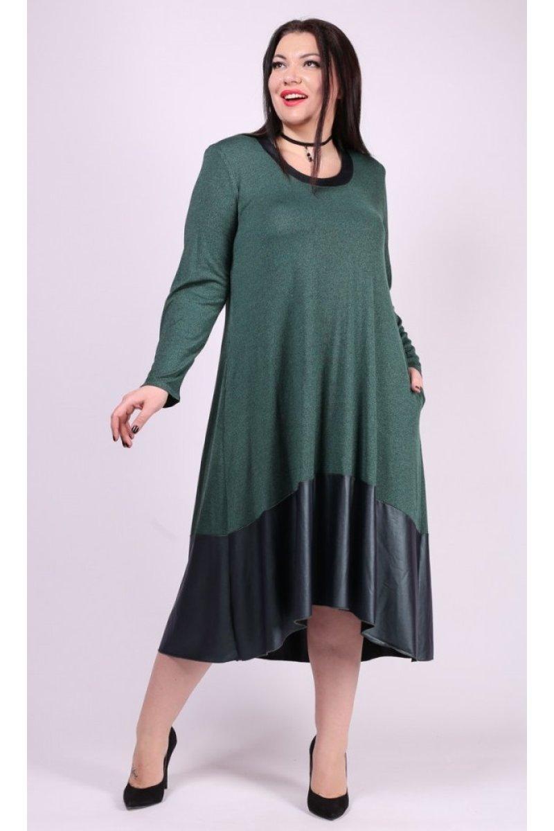 Платье Дублин (зеленый)