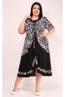 Платье Графика (зебра)