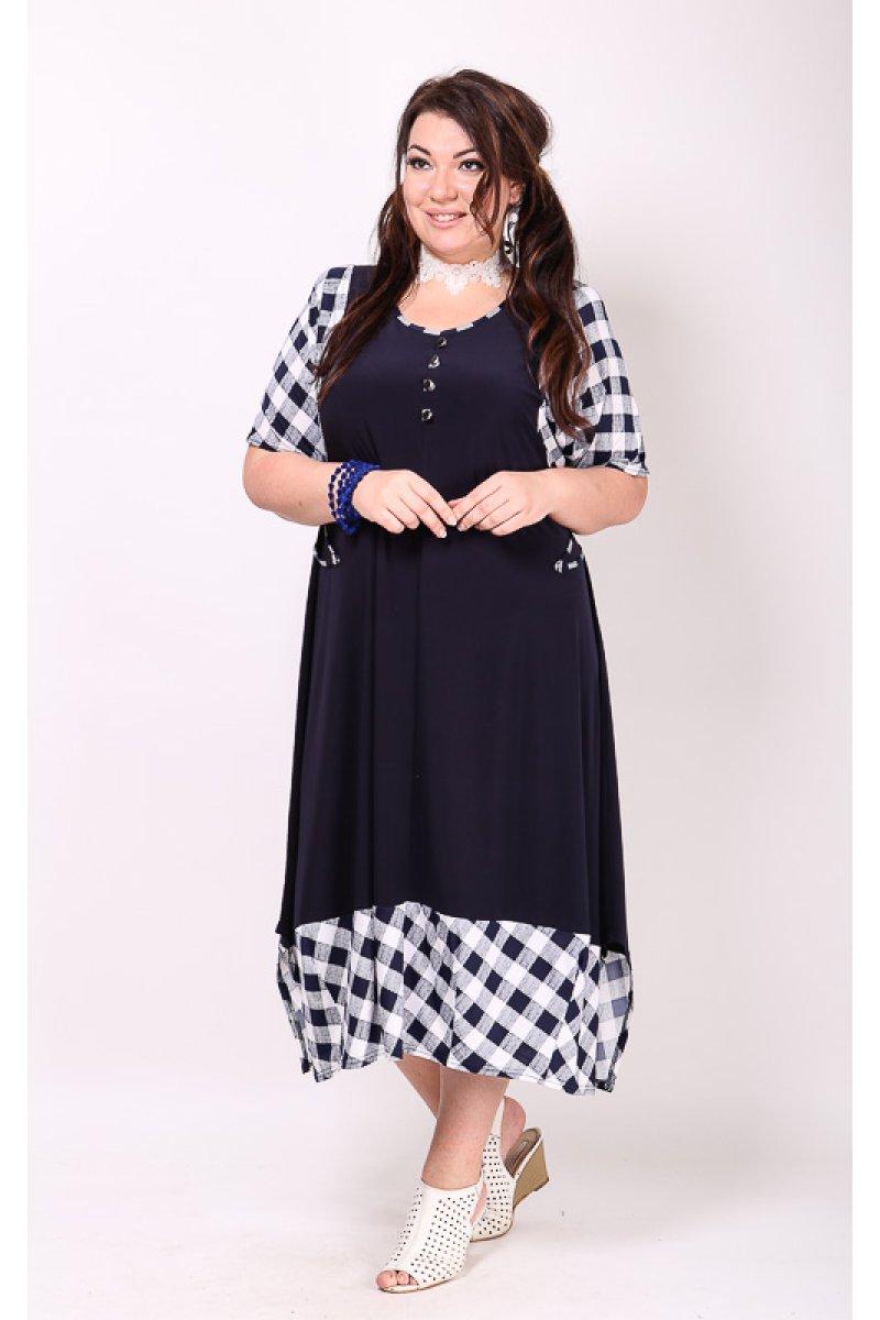 Платье Грэта (синий)