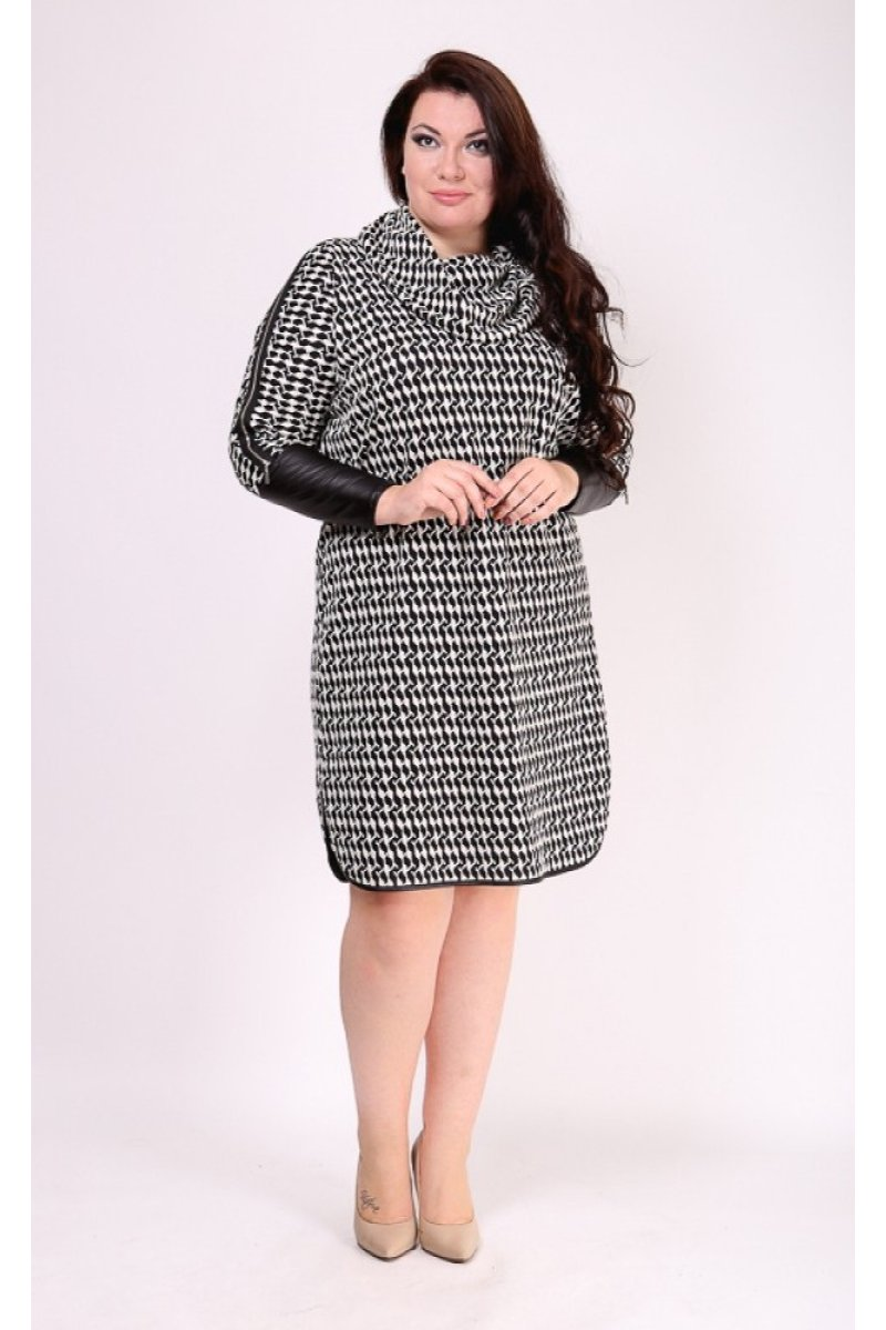 Платье Хилори (серый темный)