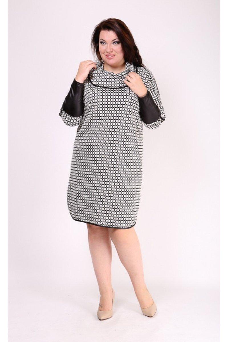 Платье Хилори (серый светлый)