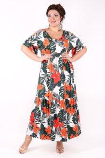 Платье Лилия (тропики)