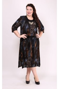 Платье Наина (синий)
