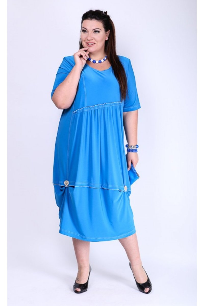 Платье Новелла (голубой)