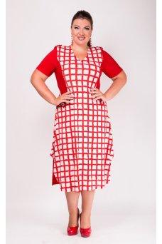 Платье Полет (красный)